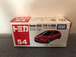 Tomica 車仔 Honda Civic Type R Euro 1/68