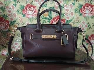 Coach swagger oxblood