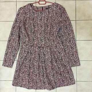 Primark Brocade Peplum Kebaya Dress