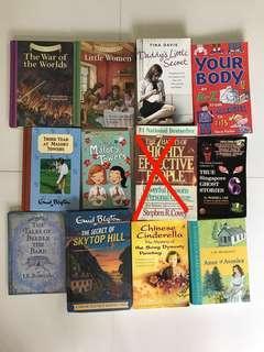 Book clearance/sale !!
