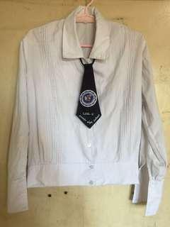 La Consolacion College Long Sleeve Uniform Top