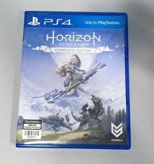 Horizon Zero Dawn complete edition PS4 game