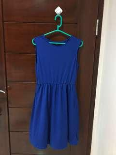 Uniqlo Blue Dress