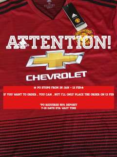 8e834c7cf 18 19 Manchester United jersey