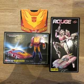 FT-24 Rogue & MP28 rodimus