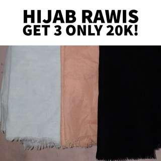 HIJAB RAWIS GET 3 INLY 20K
