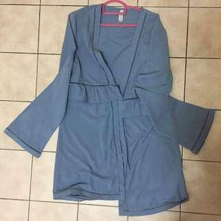 Cotton On Blue Outerwear Cardigan