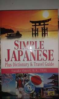 """Simple Japanese"" book."
