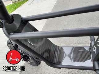 $50 Fiido Carbon Fiber Splashguard