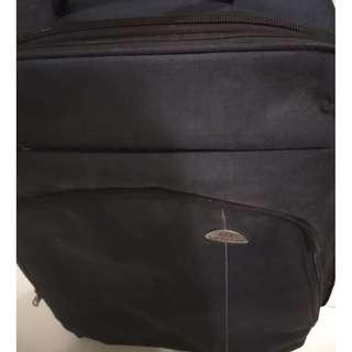 Blue original urban medium sized luggage