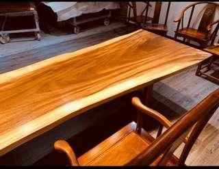 walnut wood dining table top from south Africa