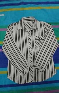 Kemeja basic stripe