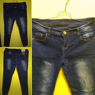 #JAN25 Celana Panjang Wanita Jeans
