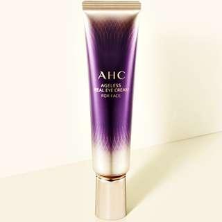 🚚 正韓【現貨不用等】韓國 AHC 第八代 極致新生醒肌無齡全效眼霜 30ml Ageless Real Eye Cream