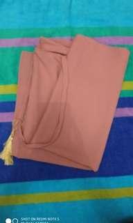 Hijab instant pink arabian