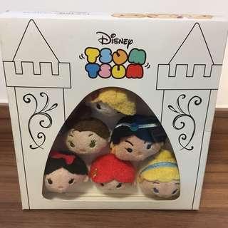 UK Disney TsumTsum Tsum Princess 公主系列 長髮公主 Rapunzel Belle Jasmine 茉莉公主 白雪公主 Snow White Ariel 美人魚 灰姑娘 Cinderella 一set6隻