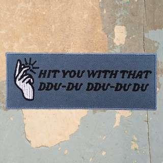 Paket Patch & Stiker Blackpink - Ddu-Du Ddu-Du