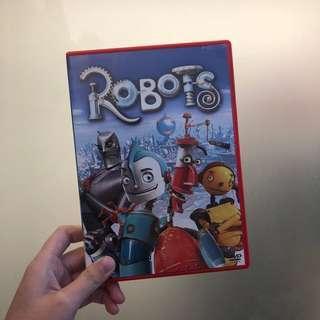 robots 露寶治的世界 DVD
