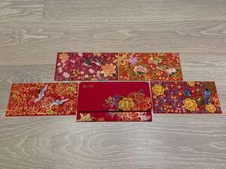 UBS 瑞士銀行 私人銀行利是封/紅包 (1套4款, 8個1包, 共96個) UBS Chinese New Year Red Envelopes