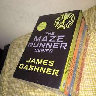 BRAND NEW - Maze Runner books 1-5 by James Dashner