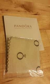 Pandora polishing cloth抹銀布