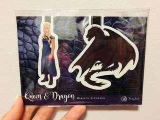 Game of Thrones Magnetic Bookmarks ( FairyLoot )