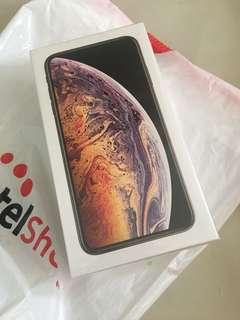 Brand new Apple iphone XS Max 256GB GOLD SINGTEL Recontract