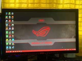 Benq full hd led monitor gl2450 for gaming desktop