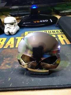 REPRICED - Motorcycle skull gas tank cap