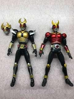 S.H.Figuarts  幪面超人古迦 / 亞極陀 SHF kamen rider Kuuga Mighty Form/ Agito