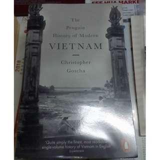 History of Modern Vietnam by Christophe Goscha