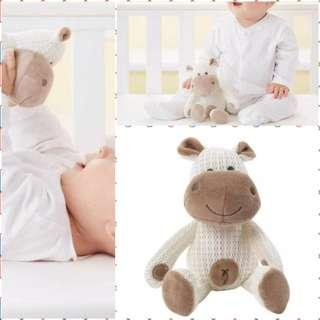 Bnib Henry the Hippo Grofriend - Breathable Toy