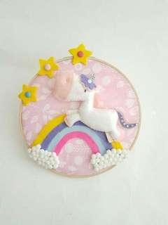 Hiasan dinding pegasus/ unicorn