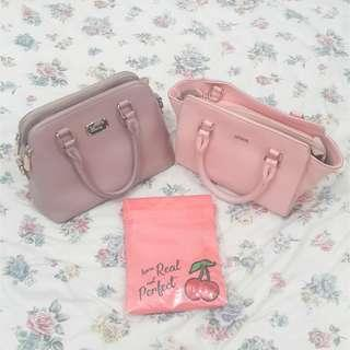 Sembonia & Playboy Bunny Bag And Shu Eumura Pouch
