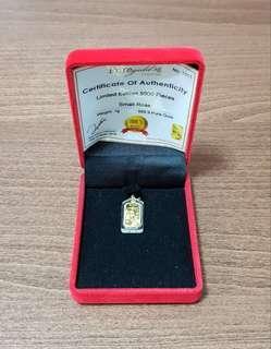 999 Gold Pendant (24k)