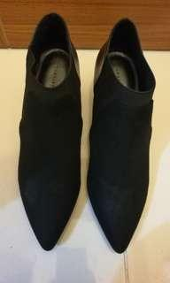 Stylish boots with wedge heels