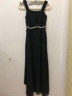Long Black dinner dress