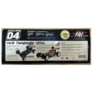 HPI HotBodies Cyclone D4 World Champion Edition 1/10 4WD Buggy tamiya yokomo kyosho