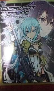 SAO Phantom Bullet #1 and #3 manga.
