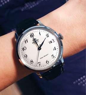 🚚 BNIB Orient Classic Automatic White Dial Men's Watch RAAC0003S AC0003S RA-AC0003S