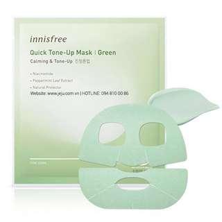 Innisfree Quick Tone-Up Mask 🍃 can't find in SG