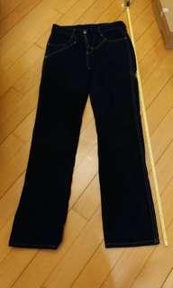 Wrangler深藍色牛仔褲
