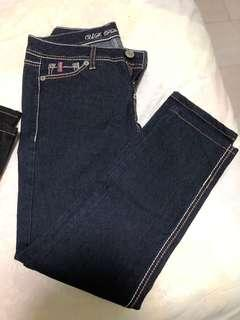 US Polo Association blue and black jeans