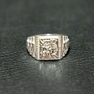 Cincin silver perak 925 motif naga