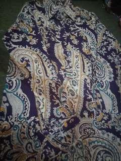 Kemeja semi batik