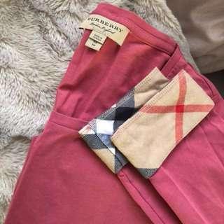 Burberry Cuff Stretch Cotton Top