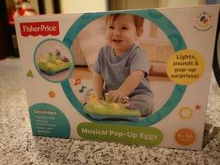 Fisher Price Musical Popup Eggs
