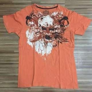 Marc Ecko Shirt - Skull (Orange)