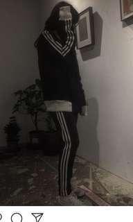 🚚 Adidas三線復古外套