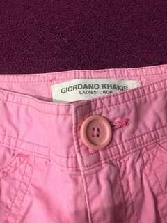 GIORDANO KHAKIS BABY PINK